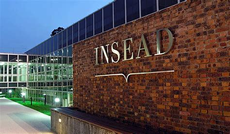 Insead Abu Dhabi Executive Mba by Insead Launches Its Signature Mba Programme In Its Abu