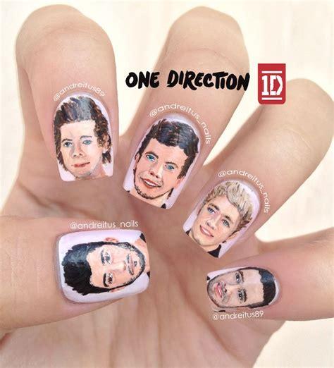 tutorial nail art one direction one direction nail art nails zayn malik harry styles