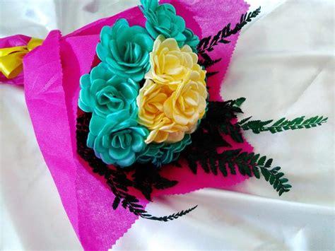 tutorial bikin bunga dari pita satin cara membuat bunga mawar dari pita satin momysouvenir