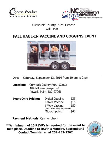 ncsu health center posts about vaccine clinic nc state extension