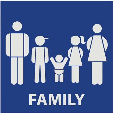family bathroom sign creative bathroom signs images