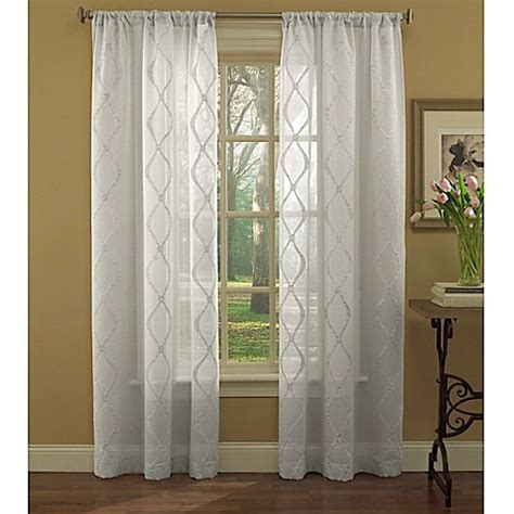 laura ashley sheer curtains laura ashley 174 preston 84 inch sheer embroidered window