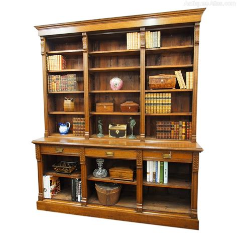 Open Bookcase by Late Oak Open Bookcase Antiques Atlas