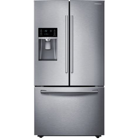 door fridge with maker shop samsung 28 07 cu ft door refrigerator with