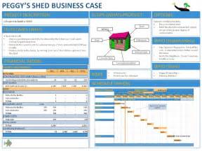 business case template powerpoint template design