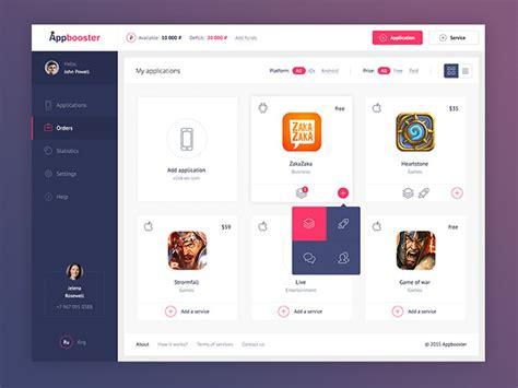 design menu program mobile menu design user interface exles you need to see