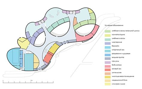 Landscape Architecture Zoning The Concept Of An Educational Complex On Behance