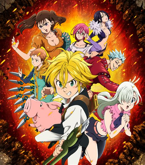 Anime 7 Deadly Sins Season 3 by The Seven Deadly Sins Knights Of Britannia Is A Ps4 Exclusive