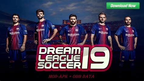 download mod game dream league soccer dream league soccer 2019 mod fc barcelona team download