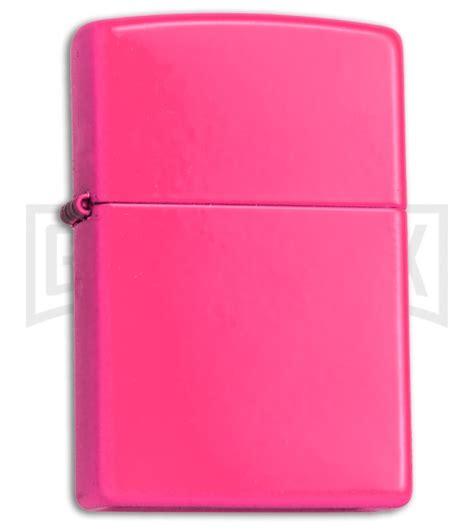 Zippo Neon Pink zippo lighter neon pink matte grindworx