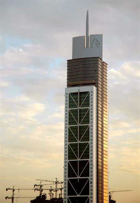 millennium tower dubai uae  architect