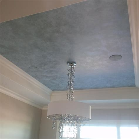 Ceiling Paint Finish Three Tone Metallic Ceiling Finish With Modern Masters
