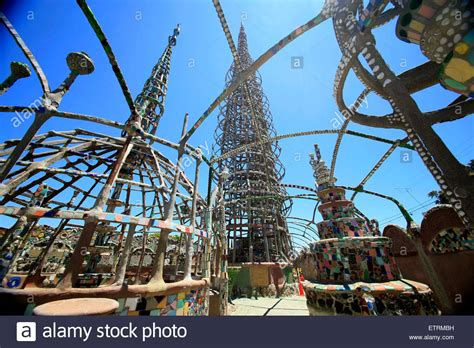watts los angeles wikipedia the free encyclopedia the watts towers los angeles california stock photo