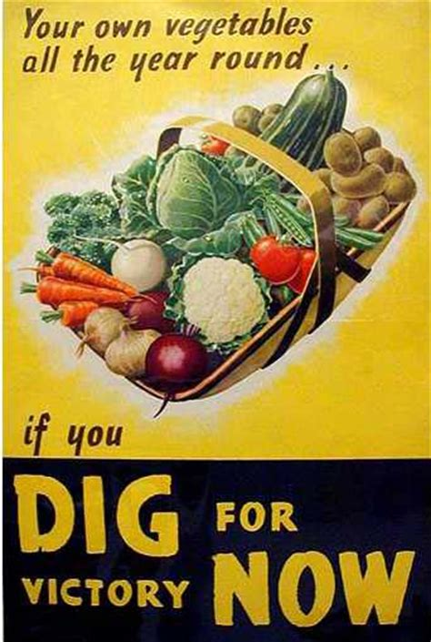 food and vintage inspiration victory gardens