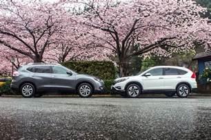 Honda Rogue 2015 Honda Cr V Vs 2015 Nissan Rogue Autos Ca