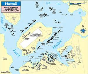 Ford Island Map Pearl Harbor Base Map