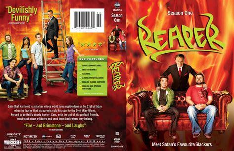 Cover Hk Tv 1 reaper season 1 r1 tv dvd scanned covers reaper season 1 r1 dvd covers