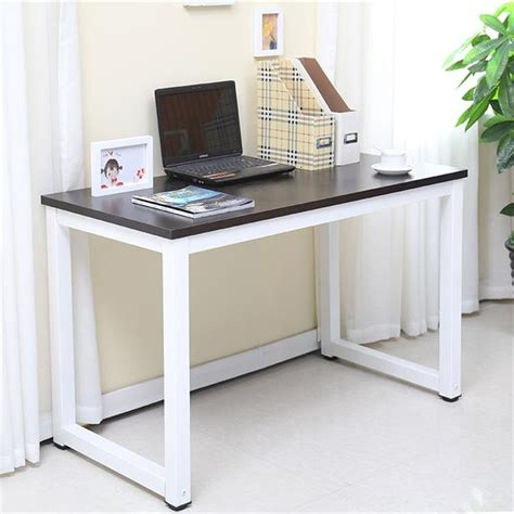 Cheap Laptop Desk National Free Shipping Cheap Computer Desk Dining Table Modern Wood And Steel Structure Piano