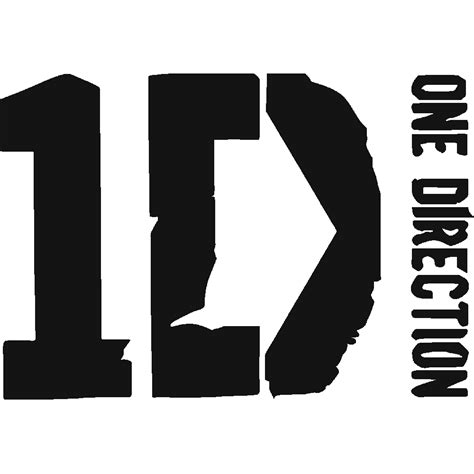 Logo One Direction 01 stickers news one direction logo stick
