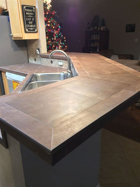 kitchen backsplash and countertop ideas tile countertop the sign decorating ideas in