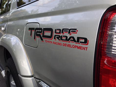 Racing Sticker Placement by Trd Decal Placement Toyota 4runner Forum Largest