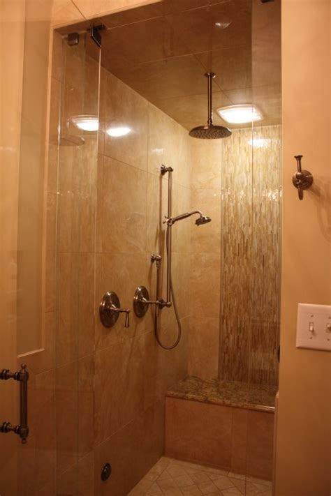 small shower bench small shower with bench bathrooms pinterest