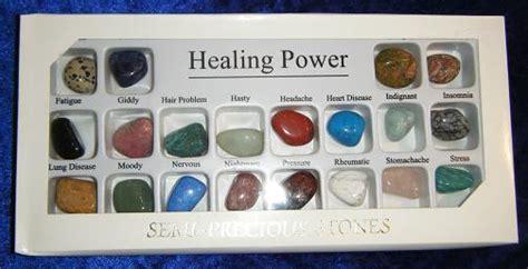 healing power of gemstones 20 large semi precious stones