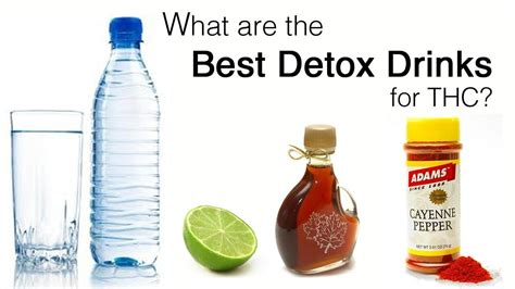 Detox Drink To Flush Out Thc the best and most effective marijuana detox drinks