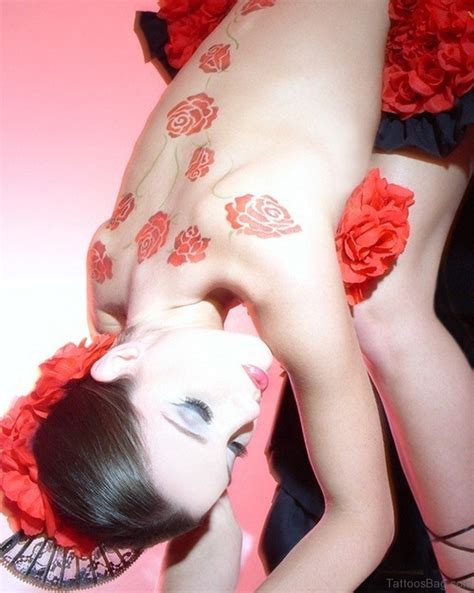 back tattoos of roses 61 lovely tattoos for back