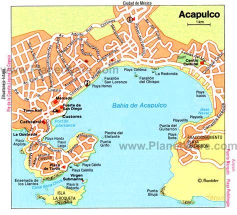 map of mexico acapulco acapulco mexico tourism acapulco vacations