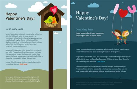 email advertisement template email marketing templates