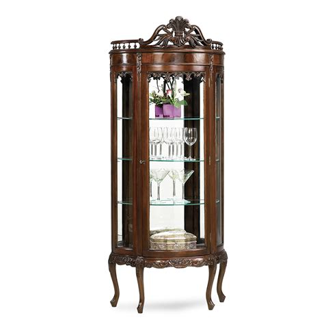 Curio Cabinet Lighting by Display Cabinet Curio Tiffin With Lighting Jansen