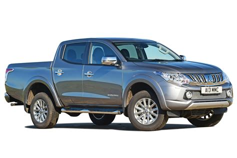 Mitsubishi L200 Practicality Boot Space Carbuyer