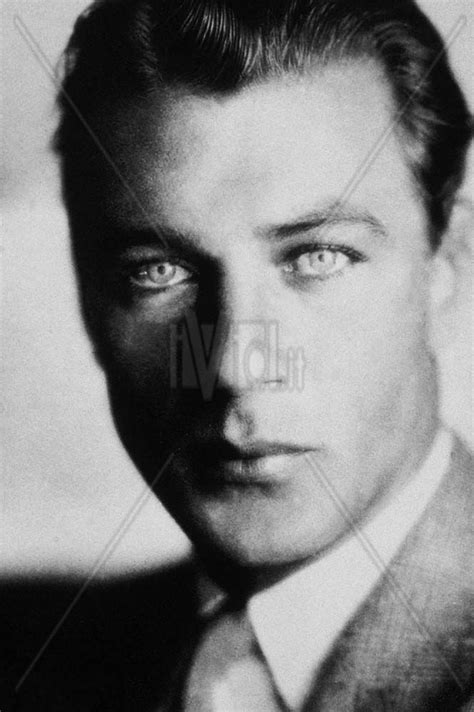 handsome actor with blue eyes gary cooper had pretty eyes because he had light blue