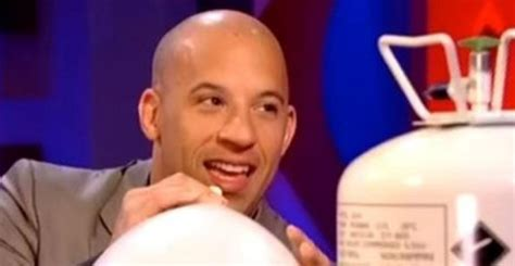 vin diesel on helium vin diesel inhales helium on the jonathan ross show