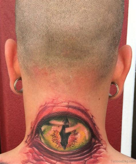 skin it tattoo 76 excellent eye tattoos on neck