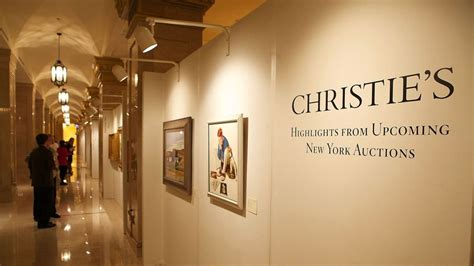 christie s auction house new york christie s bolsters online auctions in bid for younger customers