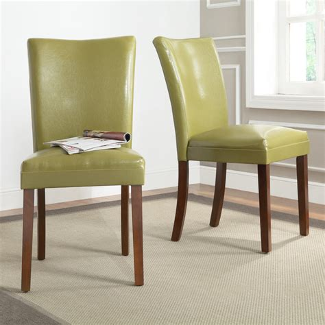 Contemporary Dining Chairs Upholstered Estonia Olive Green Upholstered Dining Contemporary Dining Chairs By Overstock