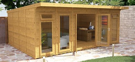 insulated garden rooms waltons sheds