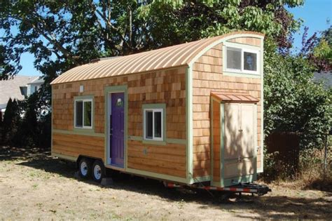 micro house on wheels 248 sq ft lilypad tiny house on wheels