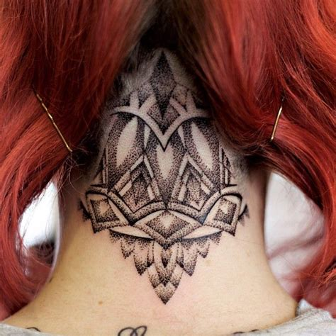 tattoo on nape of neck designs best 25 scalp ideas on tattoos
