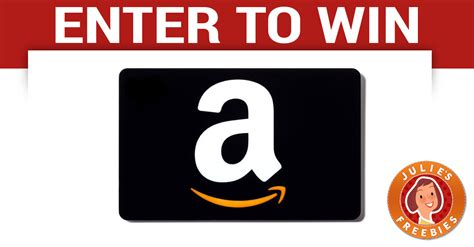 Win An Amazon Gift Card - win a 2 000 amazon gift card julie s freebies
