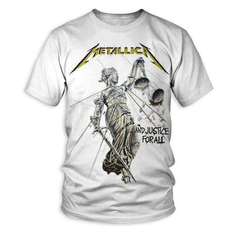 Tshirt Guitar Metalica April Merch and justice for all album cover t shirt metallica
