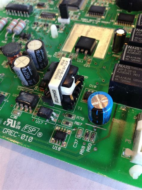 samsung capacitor diy how to fix a whirlpool kitchenaid w10219463 2307028 board for 6