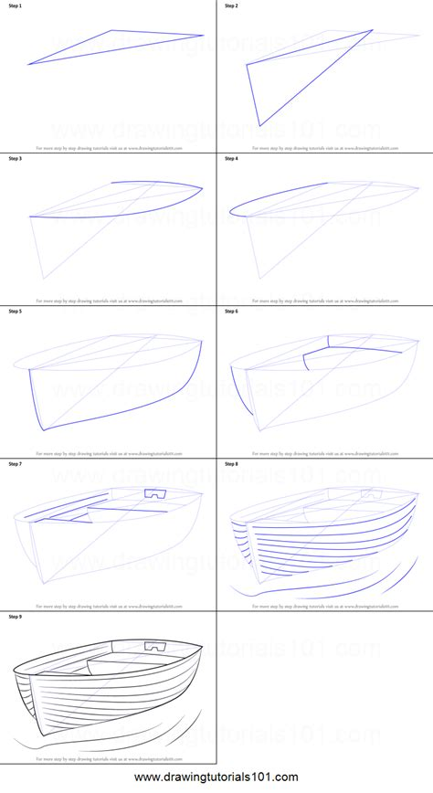 how to draw a boat step by step how to draw boat at dock printable step by step drawing