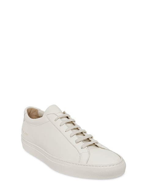 by common projects sneakers common projects original achilles leather sneakers in