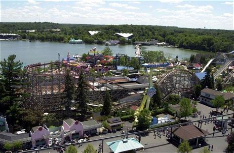 theme park ohio oh aurora geauga lake amusement park in better days