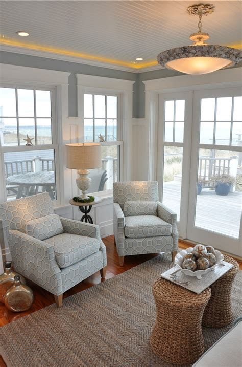 Coastal Home Interiors | dream beach cottage with neutral coastal decor home