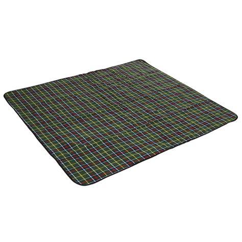 coleman picnic rug coleman 130 x 150cm large green tartan picnic rug bunnings warehouse