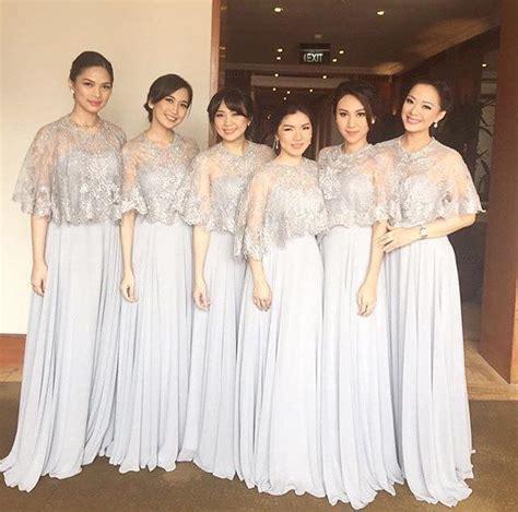 Baju Bridesmaid Instagram elegan nan sederhana inilah kumpulan ide seragam bridesmaid yang nggak melulu kebaya